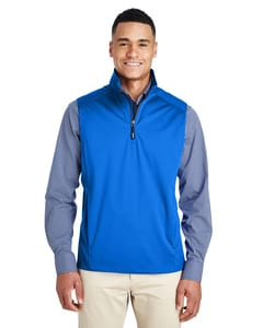 Ash City - Core 365 CE709 - Mens Techno Lite Three-Layer Knit Tech-Shell Quarter-Zip Vest