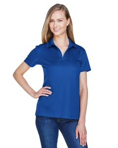 Devon & Jones DG20W - Ladies CrownLux Performance™ Plaited Polo