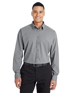 Devon & Jones DG535 - CrownLux Performance™ Mens Tonal Mini Check Shirt