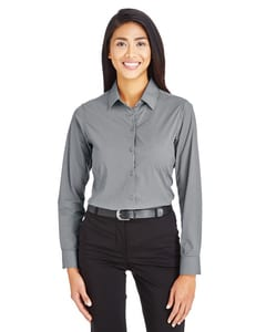 Devon & Jones DG535W - CrownLux Performance™ Ladies Tonal Mini Check Shirt