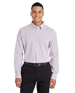 Devon & Jones DG540 - CrownLux Performance™ Mens Micro Windowpane Shirt