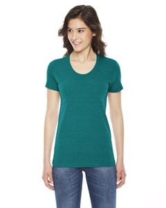 American Apparel TR301W - Ladies Triblend Short-Sleeve Track T-Shirt