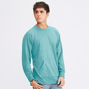 Comfort Colors 1536 - FRENCH TERRY CREW WITH POCKET