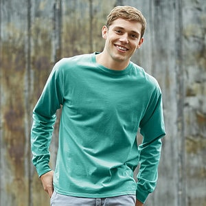 Hanes GDH200 - ADULT LONG SLEEVE TEE