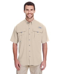 Columbia 7047 - Mens Bahama II Short-Sleeve Shirt