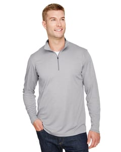 Team 365 TT31H - Mens Zone Sonic Heather Performance Quarter-Zip