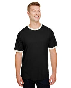 Champion CP65 - Adult Triblend Ringer T-Shirt