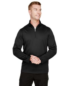 Harriton M748 - Mens Advantage Snag Protection Plus IL Quarter-Zip