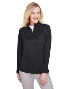 Harriton M748W - Ladies Advantage Snag Protection Plus IL Quarter-Zip