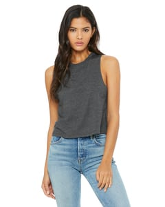 Bella+Canvas 6682 - Ladies Racerback Cropped Tank