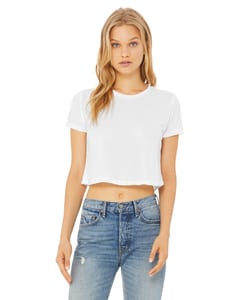 Bella+Canvas B8882 - Ladies Flowy Cropped T-Shirt