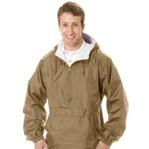 Q-Tees P401 - Hooded Pullover Jacket