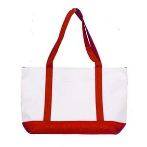 Q-Tees Q9STB - Polyester Shopping Tote Bag