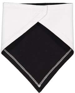 Rabbit Skins RS1012 - Infant Premium Jersey Bandana Bib