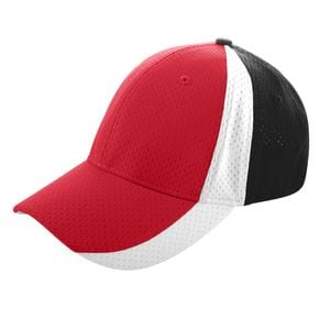 Augusta Sportswear 6247 - Sport Flex Three Color Athletic Mesh Cap