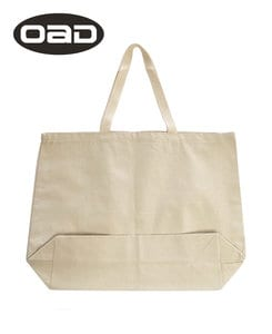 Liberty Bags OAD108 - OAD Jumbo 12 oz Gusseted Tote