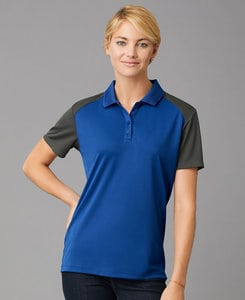 Prim + Preux PP2039L - PRIM + PREUX Womens Energy Color Block Polo