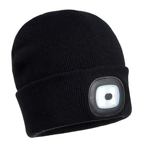 Portwest B029 - Rechargeable LED Beanie