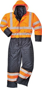 Portwest S485 - Contrast Coverall Lined