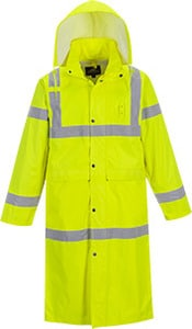 Portwest UH445 - Hi-Vis Classic Raincoat 48
