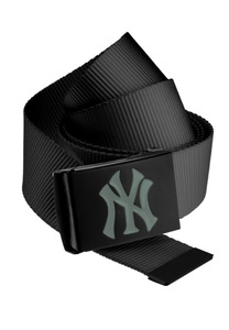 MSTRDS 10280 - MLB Premium Black Woven Belt Single