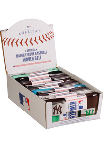 MSTRDS 10305 - MLB Wovenbelt Display