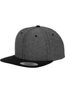 Flexfit 6089CH - Chambray-Suede Snapback
