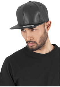 Flexfit 6089FL - Full Leather Imitation Snapback