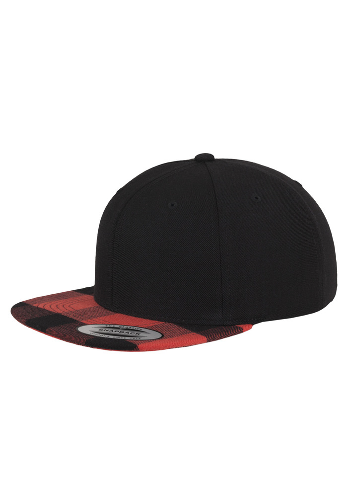 Flexfit 6089FP - Checked Flanell Peak Snapback