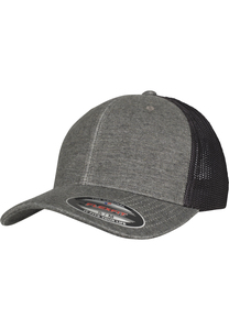 Flexfit 6511M - Berretto da baseball Trucker retrò melange