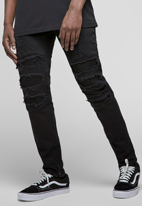 CS CS1017 - ALLDD Inverted Biker Ian Denim Pants