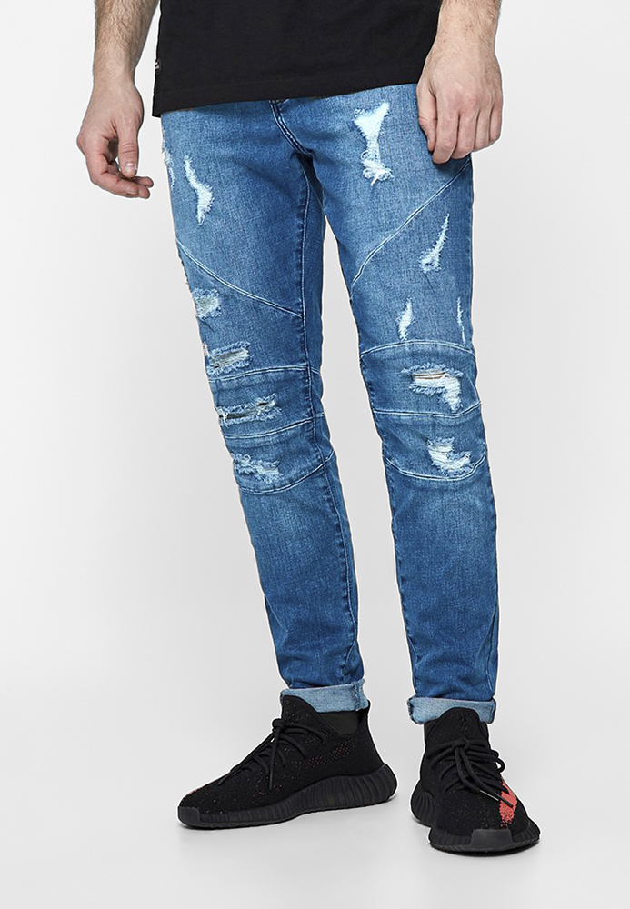 CS CS1021 - ALLDD Paneled Ian Denim Pants