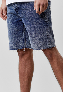CS CS1045 - C&S ALLDD Raw Edge Denim Shorts