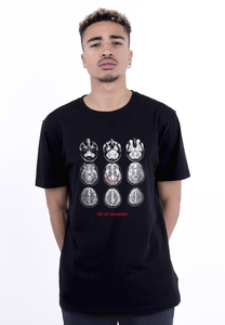 CS CS1944 - C&S WL Scan Tee black/white