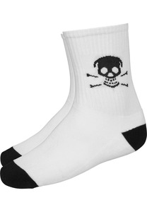 Famous FA022 - Famous Skull Double Pack Socks