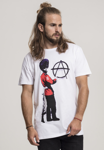 Merchcode MC094 - T-shirt Brandalised - Banksy´s Graffiti  Anarchy