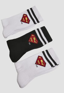 Merchcode MC1002 - Chaussettes Superman paquet de 3