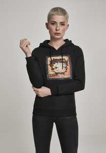 Merchcode MC176 - Sudadera colorida con capucha para mujer Betty Boop