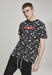 Merchcode MC302 - Coca Cola AOP Box Logo Tee