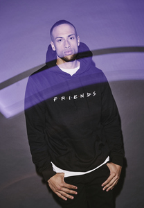 Merchcode MC332 - Sweatshirt à capuche logo Friends EMB