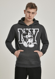 Merchcode MC420 - Sweatshirt à capuche Mickey NY