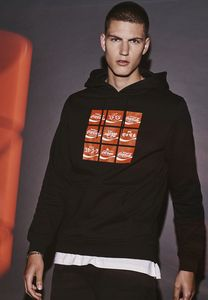 Merchcode MC444 - Coca Cola Internationale Logo Hoodie