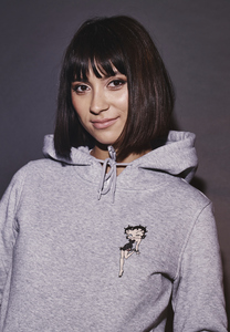Merchcode MC471 - Ladies Betty Boop Lips Hoody