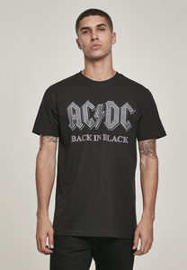 Merchcode MC480 - Camiseta ACDC Back In Black