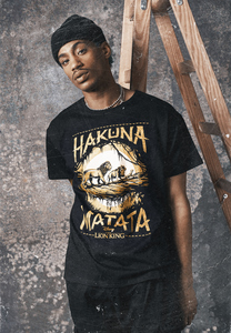 Merchcode MC507 - Lion King Hakuna Matata T-shirt