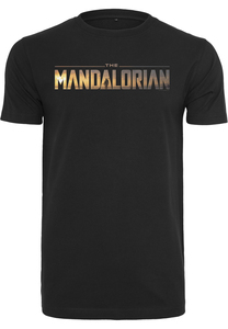 Merchcode MC573 - Camiseta con logo de Star Wars The Mandalorian