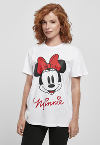 Merchcode MC582 - Camiseta para mujer Minnie Mouse