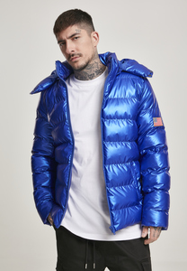Mister Tee MT1029 - NASA Insignia Metallic Puffer Jacket
