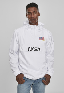 Mister Tee MT1163 - NASA Worm Logo Pull Over Jacket