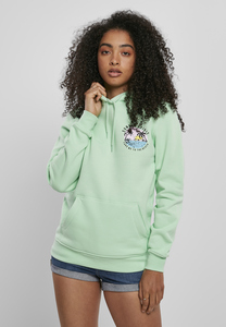 Mister Tee MT1227 - Ladies Summer Spirit Hoody neo mint